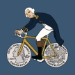 Geroge-Washingon-on-bicycle