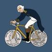 Geroge-Washingon-on-bicycle